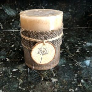 NWT Pier 1 Rustic Woodlands Candle